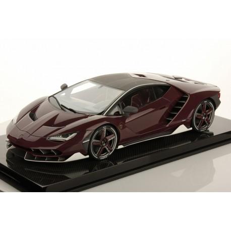 Lamborghini Centenario Shiny Red Carbon Fibre 2016 Looksmart LS1208SE5