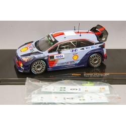 Hyundai i20 WRC Tour de Corse 2017 Avec Decals IXO RAM646