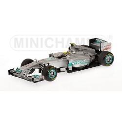 Mercedes GP Petronas MGP W02 F1 2011 Nico Rosberg Minichamps 410110008
