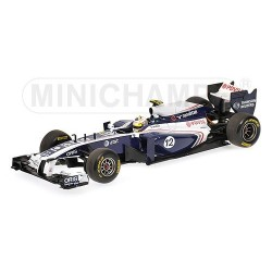 Williams Cosworth FW33 F1 2011 Pastor Maldonado Minichamps 410110012