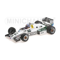 Williams Ford FW08C F1 1983 Keke Rosberg Minichamps 117830001