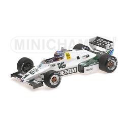 Williams Ford FW08C F1 1983 Keke Rosberg Minichamps 117830001