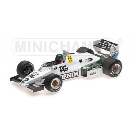 Williams Ford FW08C F1 1983 Jacques Laffite Minichamps 117830002