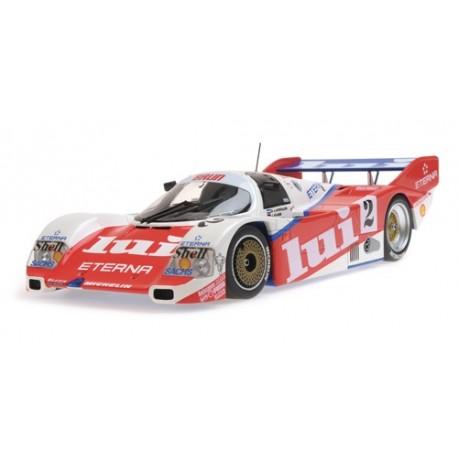 Porsche 962C 2 1000 km de Hockenheim 1987 Minichamps 155876502