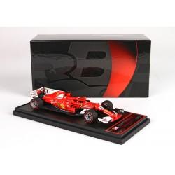 Ferrari SF70-H 5 F1 Winner Monaco 2017 Sebastian Vettel BBR BBRC201A