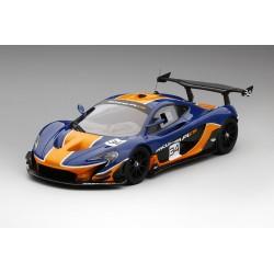 McLaren P1 GTR Bleue - Orange Truescale TSM181008R