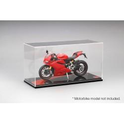 Boitier Showcase 1/12 Ducati Noir Type I Truescale TSMAC007