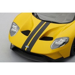 Ford GT Triple Yellow Los Angeles Autoshow Truescale TS0029