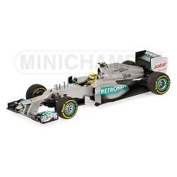 Mercedes GP W03 F1 2012 Nico Rosberg Minichamps 410120008
