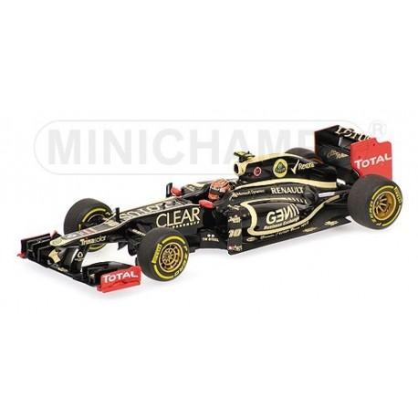 Lotus Renault E20 F1 2012 Romain Grosjean Minichamps 410120010
