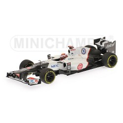 Sauber C31 F1 2012 Kamui Kobayashi Minichamps 410120014