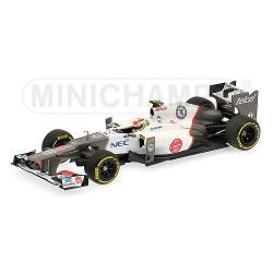 Sauber C31 F1 2012 Sergio Perez Minichamps 410120015