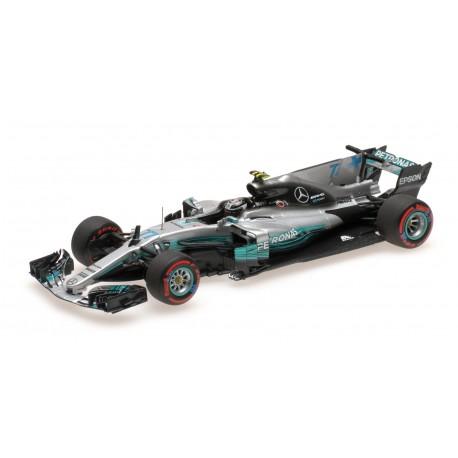 Mercedes AMG Petronas W08 77 F1 Mexique 2017 Valtteri Bottas Minichamps 410171877
