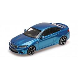 BMW M2 2016 Bleue Minichamps 410026100