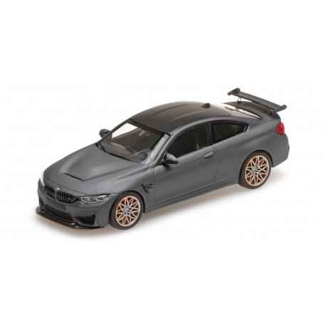BMW M4 GTS 2016 Grise matt avec jantes oranges Minichamps 410025220