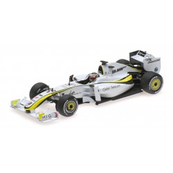 Brawn GP BGP001 F1 World Champion 2009 Jenson Button Minichamps 436090022