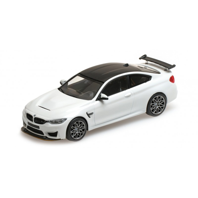 bmw m4 gts 2016 blanche avec jantes grises minichamps 410025221 miniatures minichamps. Black Bedroom Furniture Sets. Home Design Ideas