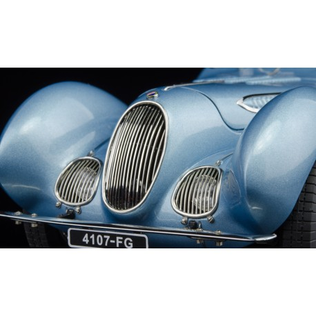 Talbot LagoT Coupe Type 150 C-SS Figoni & Falaschi Teardrop 1939 Bleue CMC CMC145
