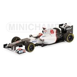 Sauber F1 Team Showcar F1 2012 Kamui Kobayashi Minichamps 410120084