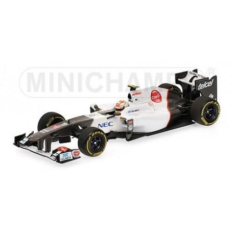 Sauber F1 Team Showcar F1 2012 Sergio Perez Minichamps 410120085