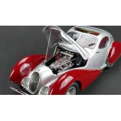Talbot LagoT Coupe Type 150 C-SS Figoni & Falaschi Teardrop 1939 Rouge CMC CMC165