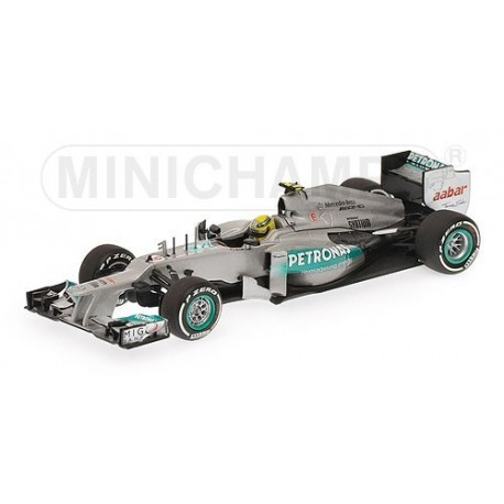 Mercedes GP W03 Winner Chine 2012 Nico Rosberg Minichamps 410120108