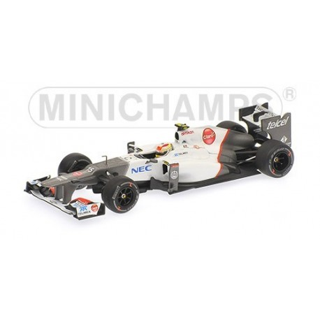 Sauber C31 Podium Malaisie 2012 Sergio Perez Minichamps 410120115