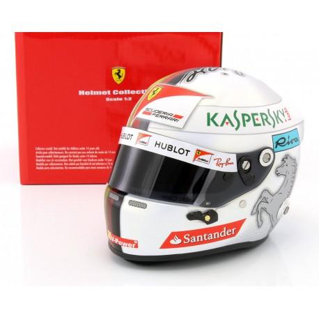 Casque 1/2 Sebastian Vettel F1 2017 Arai 70240017