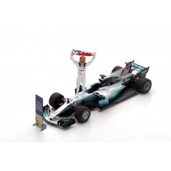 Mercedes AMG Petronas W08 EQ Power+ F1 World Champion Mexique 2017 Lewis Hamilton Spark S5054