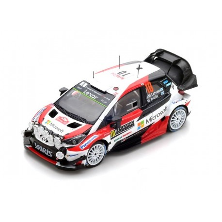 Toyota Yaris WRC 10 Rallye Monte Carlo 2017 Latvala Anttila Spark S5163