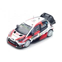 Toyota Yaris WRC 11 Rallye Monte Carlo 2017 Hanninen Lindstrom Spark S5164