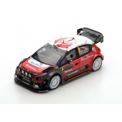 Citroen C3 WRC 8 Rallye Monte Carlo 2017 Lefebvre Moreau Spark S5159