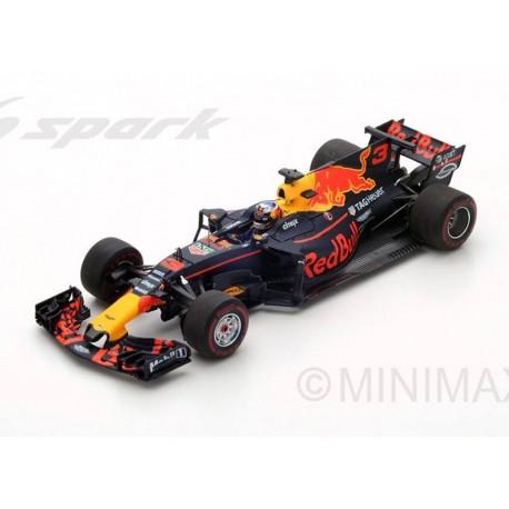 Red Bull Tag Heuer RB13 F1 Winner Azerbaidjan 2017 Daniel Ricciardo Spark S5047