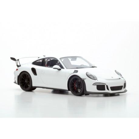 Porsche 991 GT3 RS 2015 Blanche Spark 12S006 1/12