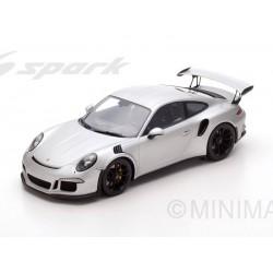 Porsche 991 GT3 RS 2016 Silver Spark 12S008