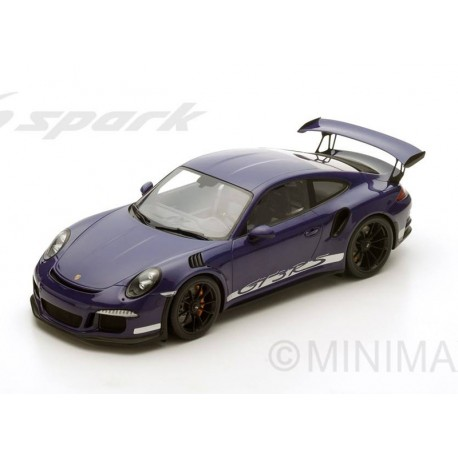 Porsche 991 GT3 RS 2016 Violet Spark 12S010