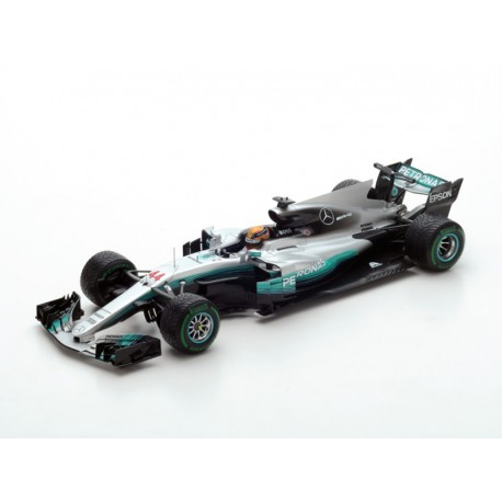 mercedes amg petronas w08 eq power f1 chine 2017 lewis hamilton spark 18s300 miniatures. Black Bedroom Furniture Sets. Home Design Ideas