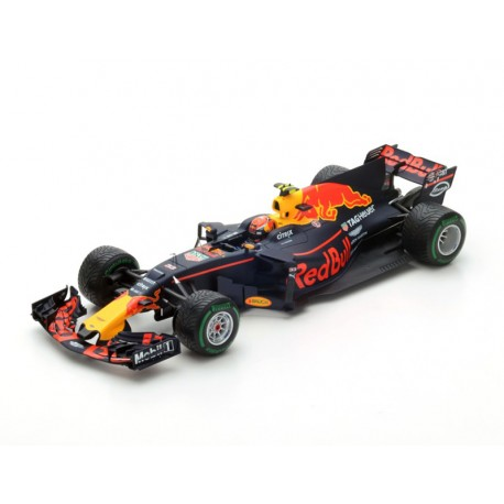 red bull tag heuer rb13 f1 chine 2017 max verstappen spark 18s305 miniatures minichamps. Black Bedroom Furniture Sets. Home Design Ideas