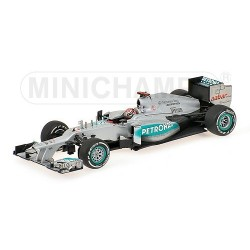 Mercedes GP W03 300 GP Belgique 2012 Michael Schumacher Minichamps 410120307