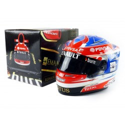 Casque 1/2 Romain Grosjean F1 2014 Bell 77112