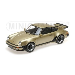 Porsche 911 Turbo Gold 1977 Minichamps 125066129 1/12