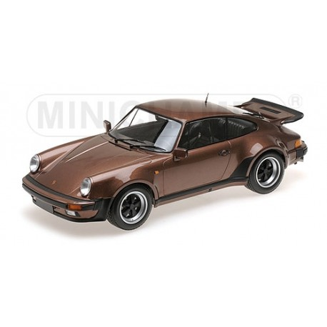 Porsche 911 Turbo Brown Metallic 1977 Minichamps 125066128 1/12