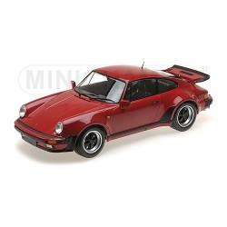 Porsche 911 Turbo Carmine 1977 Minichamps 125066114 1/12