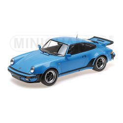 Porsche 911 Turbo Mexico Blue 1977 Minichamps 125066111 1/12