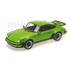 Porsche 911 Turbo Light Green 1977 Minichamps 125066109 1/12