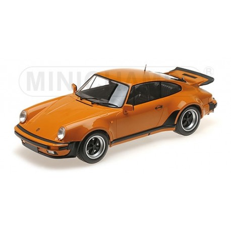 Porsche 911 Turbo Orange 1977 Minichamps 125066107 1/12