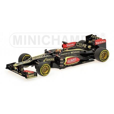 Lotus Renault E21 F1 2013 Kimi Raikkonen Minichamps 410130007
