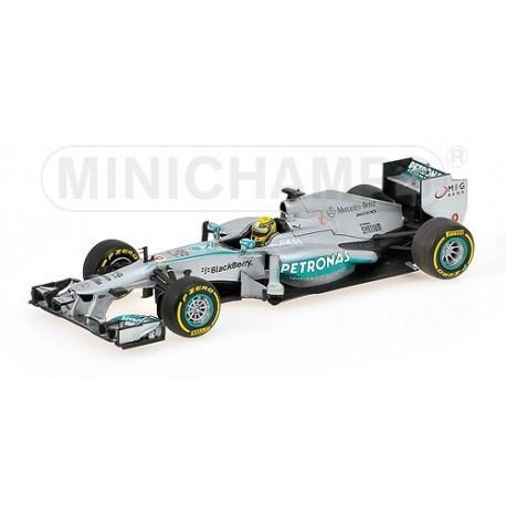 Mercedes W04 F1 2013 Nico Rosberg Minichamps 410130009