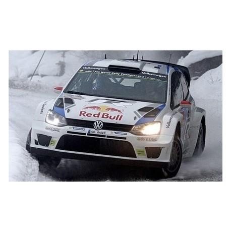 Volkswagen Polo 2 WRC Suède 2014 Latvala Antilla IXO RAM564