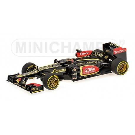 Lotus Renault F1 Team Showcar F1 2013 Kimi Raikkonen Minichamps 410130077